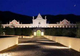 Certosa di Calci -veduta notturna